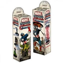 Marvel Heroclix Captain America Booster (5p)