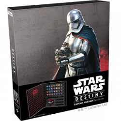 Star Wars Destiny - Captain Phasma Dice Binder
