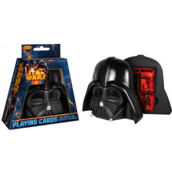 Star Wars The Story of Darth Vader - Speelkaarten in Darth Vader Helm
