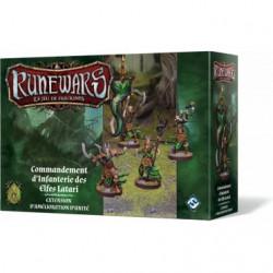 Runewars Le jeu de figurines: Commandement d'infanterie des elfes...