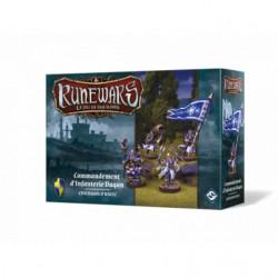 Runewars le jeu de figurines: Commandement d'Infanterie Daqan –...