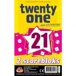 Twenty One Scoreblokken