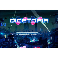 Dicetopia + Solo + Faction + Meeple Pack