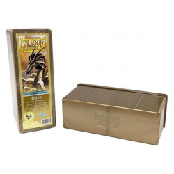 Dragon Shield Storage Box - Gold - 4 Compartments