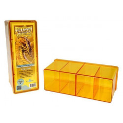 Dragon Shield Storage Box - Yellow - 4 Compartments