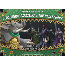 Massive Darkness: Heroes & Monster Set – Bloodmoon Assassins vs The...