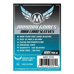 Mayday Sleeves: Mini Euro size 45x68mm (100p)
