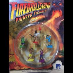 Fireball Island: Pre-painted minis