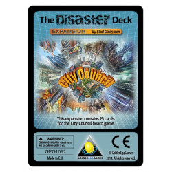 City Council: The Disaster Deck