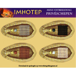 Imhotep: Privéschepen