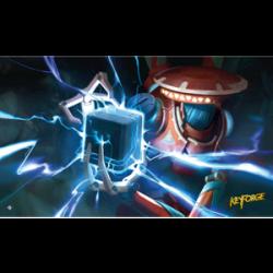 KeyForge Playmat - Positron Bolt