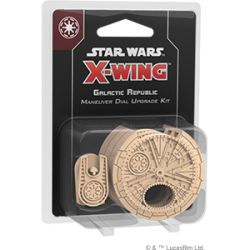 Star Wars X Wing 2nd Edition: Galactic Republic Maneuver Dial...