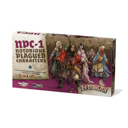 Zombicide : Black Plague - Notorious Plagued Characters - 1