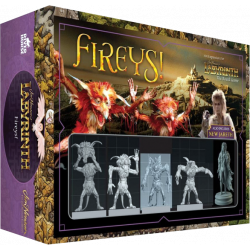 Jim Henson's Labyrinth The Board Game: Fireys! Expansion