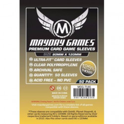 MAYDAY SLEEVES: MAGNUM GOLD PREMIUM 80X120MM (50P)