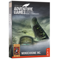 Adventure Games: Monochrome Inc.