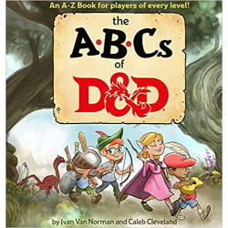 ABCs of D&D (Dungeons & Dragons Children's Book)
