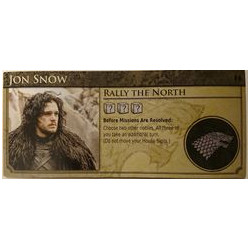 Game of Thrones: Oathbreaker – Jon Snow/Sansa Stark Character Board
