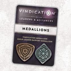 Vindication: Leaders and Alliances Metal Threshold Medallions