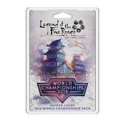 Legend of the Five Rings: The Card Game – Winter Court – 2018 World...