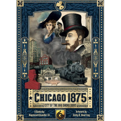 Chicago 1875: City of the Big Shoulders Masterprint