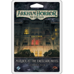 Arkham Horror: The Card Game – Murder at the Excelsior Hotel:...