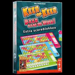 Keer op Keer Scoreblok 3 stuks Level 5, 6 en 7
