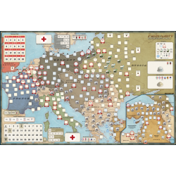 Paths of Glory: Mounted Mapboard