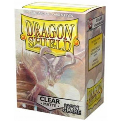 Dragon Shield Clear - Matte Non-Glare (100st)