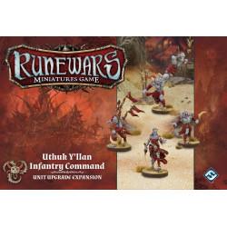 Runewars - Le Jeu De Figurines : Commandement D'infanterie Uthuk...
