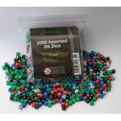 Dice 5mm - (1000 pcs)