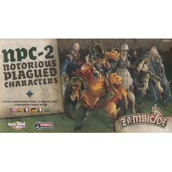 Zombicide: Black Plague – NPC-2
