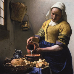 De Keukenmeid - Johannes Vermeer puzzle (Rijksmuseum) (210)