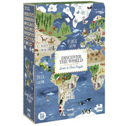 Discover the World puzzle (200)