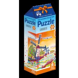 1001Kleuren - Kinderdijk - Eveline Bouwkamp puzzle (500)