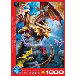Dragon Clan puzzle - Anne Stokes (1000)