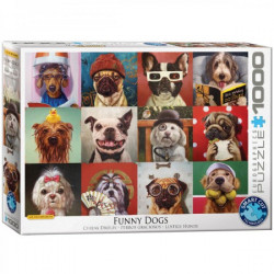 Funny Dogs Puzzle - Lucia Heffernan (1000)
