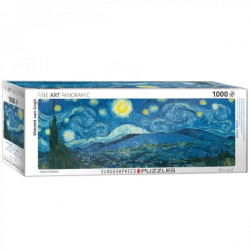 Starry Night - Vincent van Gogh Panorama puzzle (1000)