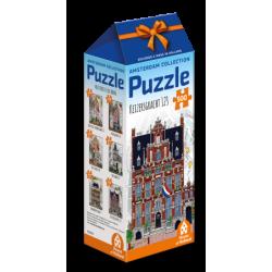 Amsterdam - Huis met de Hoofden Keizersgracht 123 puzzle (500)
