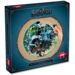 Harry Potter Magical Creatures  Round Puzzle (500)