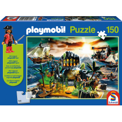 Playmobil, Pirate Island, 150 pieces - Puzzle