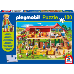 Playmobil, Farm, 100 pieces - Puzzle