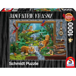 Tigers - Coming to life - Puzzle (1000)