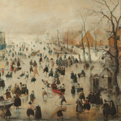 Winter Puzzle - Hendrick Averkamp (Rijksmuseum) (210)