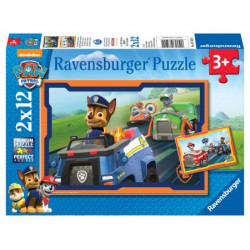 Paw Patrol in Action Puzzle (2 x 12)