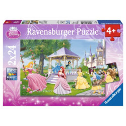 Disney - Enchanting Princesses puzzles (2x24)
