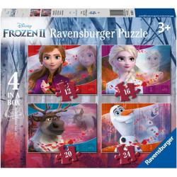 Disney Frozen 2 Northuldra puzzle (12+16+20+24)