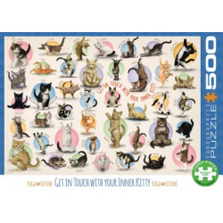 Yoga Kittens Puzzle (500)
