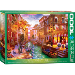 Sunset Over Venice puzzle (1000)