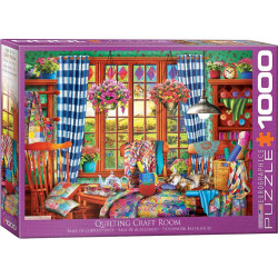 Quilting Craft Room puzzle (1000)